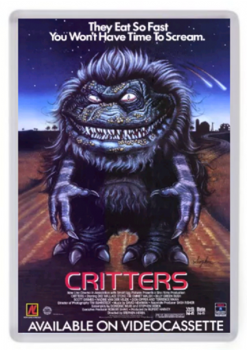 Critters Fridge Magnet. Cult 80's Horror